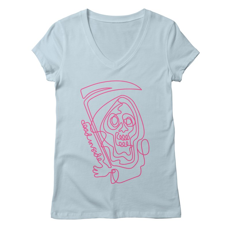 dead inside Women's V-Neck by okik's Artist Shop