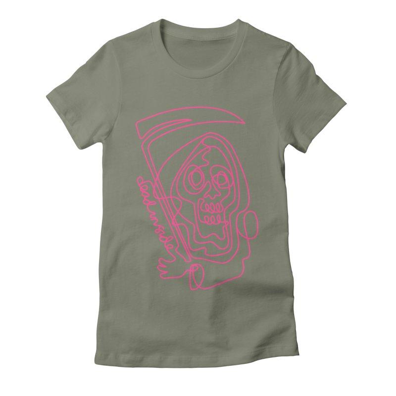 dead inside Women's Fitted T-Shirt by okik's Artist Shop