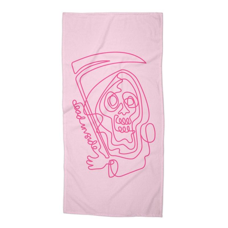 dead inside Accessories Beach Towel by okik's Artist Shop