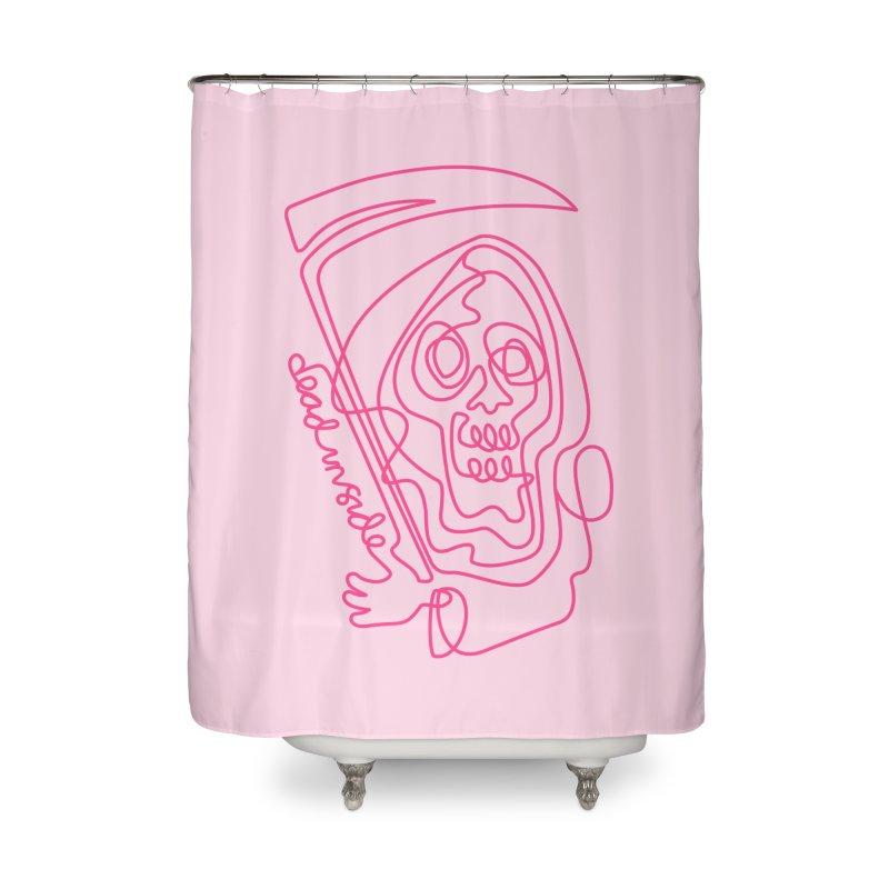 dead inside Home Shower Curtain by okik's Artist Shop