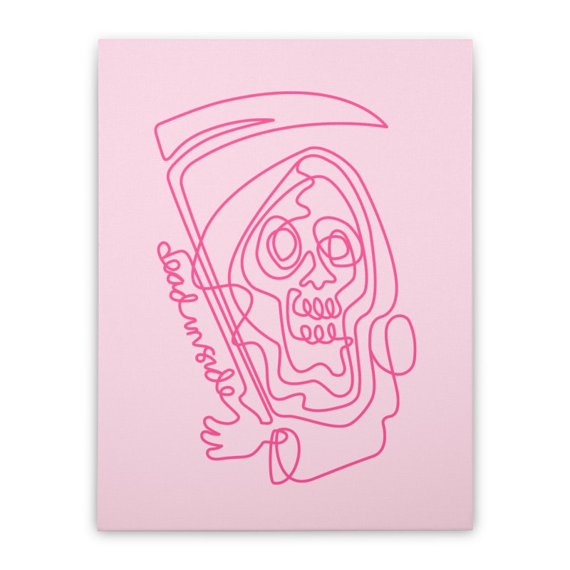 dead inside Home Stretched Canvas by okik's Artist Shop