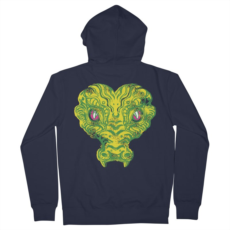 watching you Men's French Terry Zip-Up Hoody by okik's Artist Shop