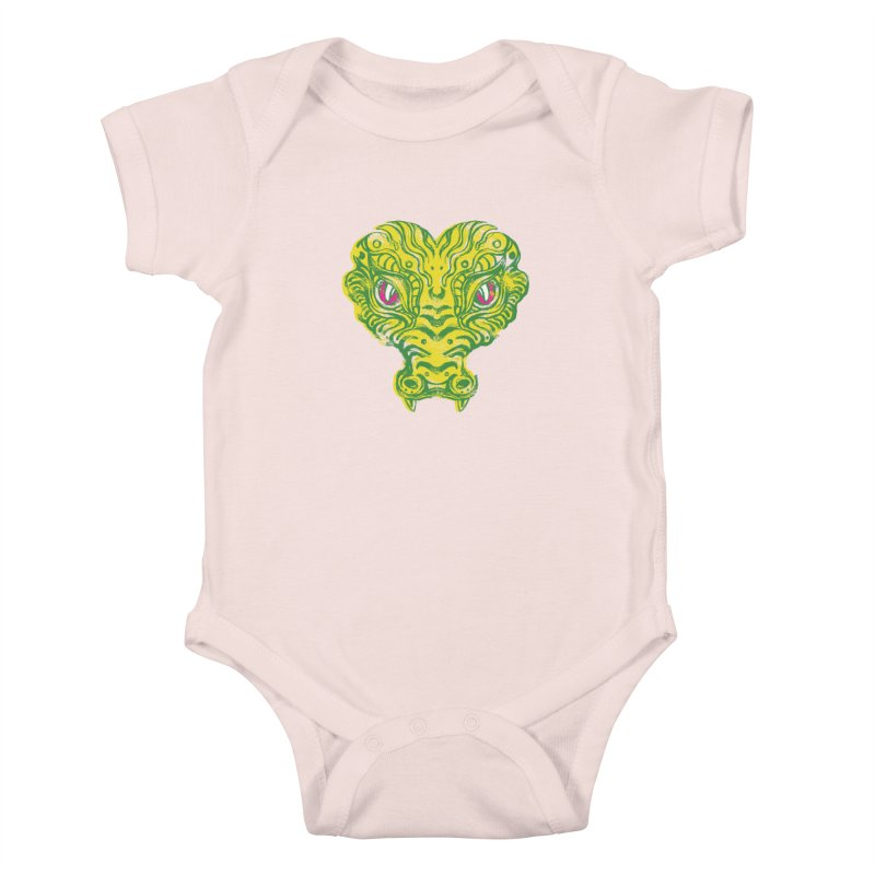 watching you Kids Baby Bodysuit by okik's Artist Shop