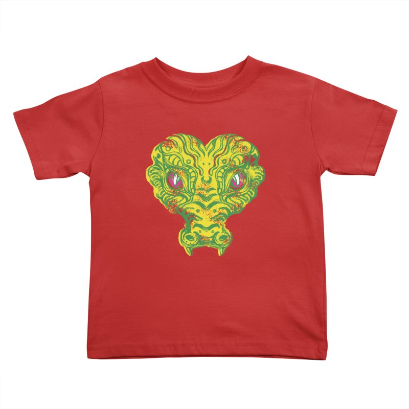 watching you Kids Toddler T-Shirt by okik's Artist Shop