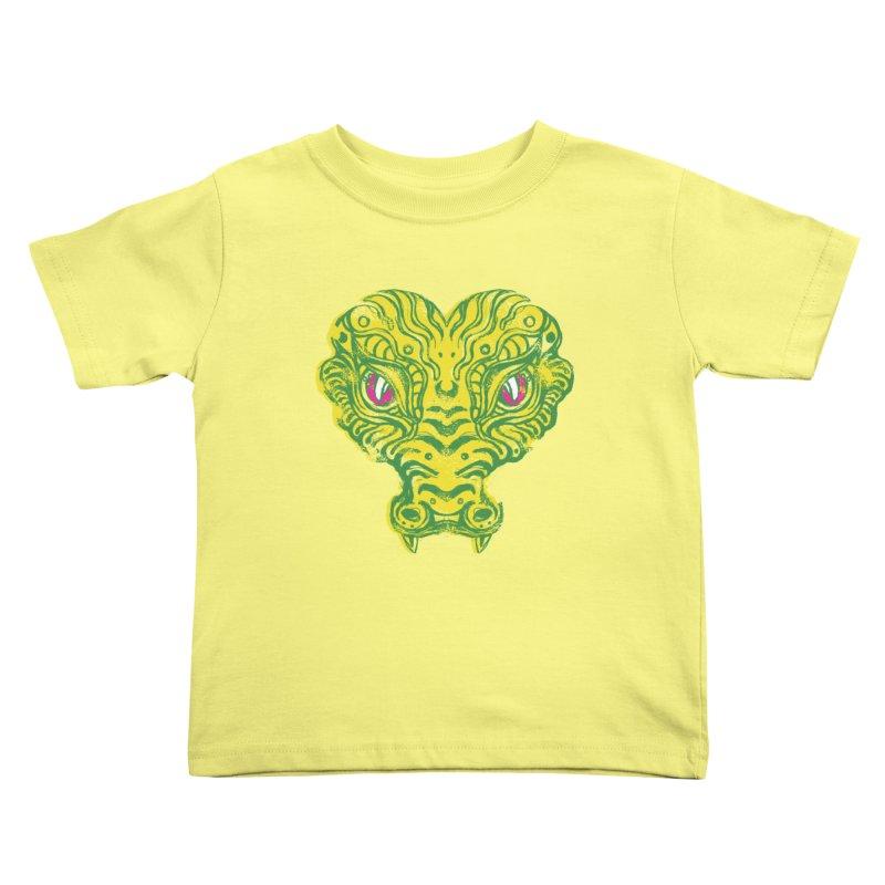 watching you Kids Toddler T-Shirt by okik's Artist Shop