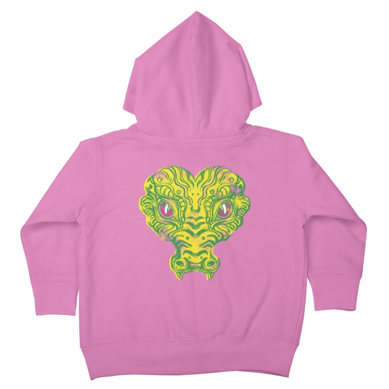watching you Kids Toddler Zip-Up Hoody by okik's Artist Shop
