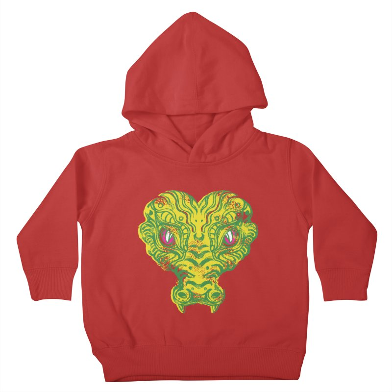 watching you Kids Toddler Pullover Hoody by okik's Artist Shop