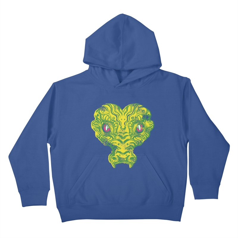 watching you Kids Pullover Hoody by okik's Artist Shop