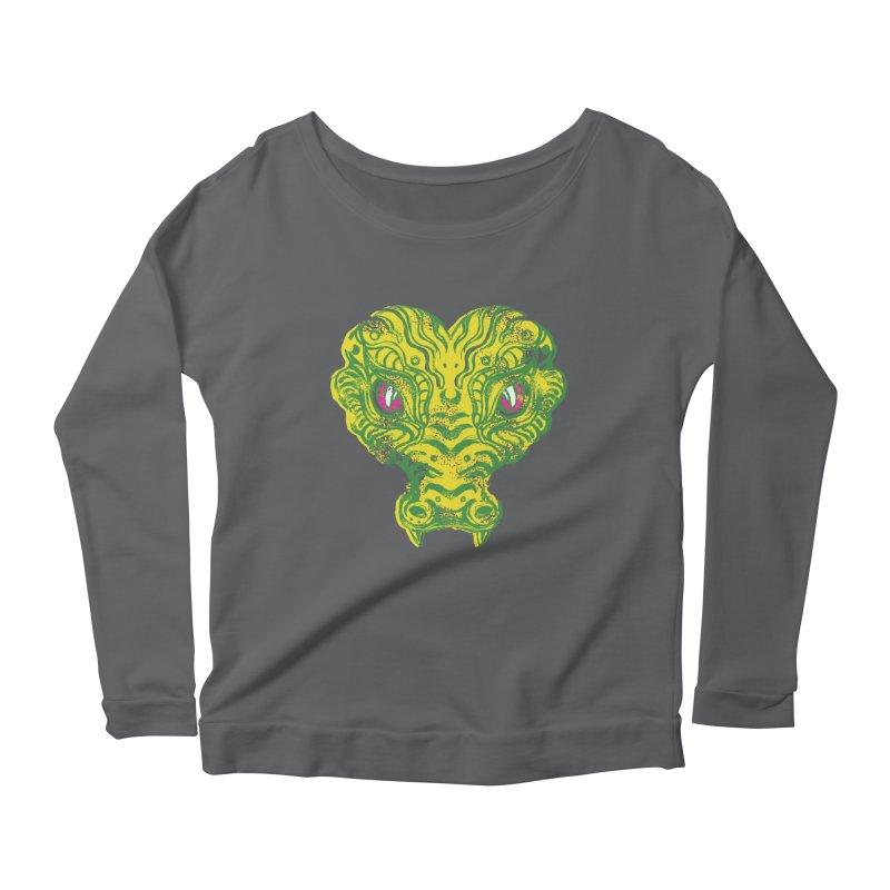watching you Women's Scoop Neck Longsleeve T-Shirt by okik's Artist Shop