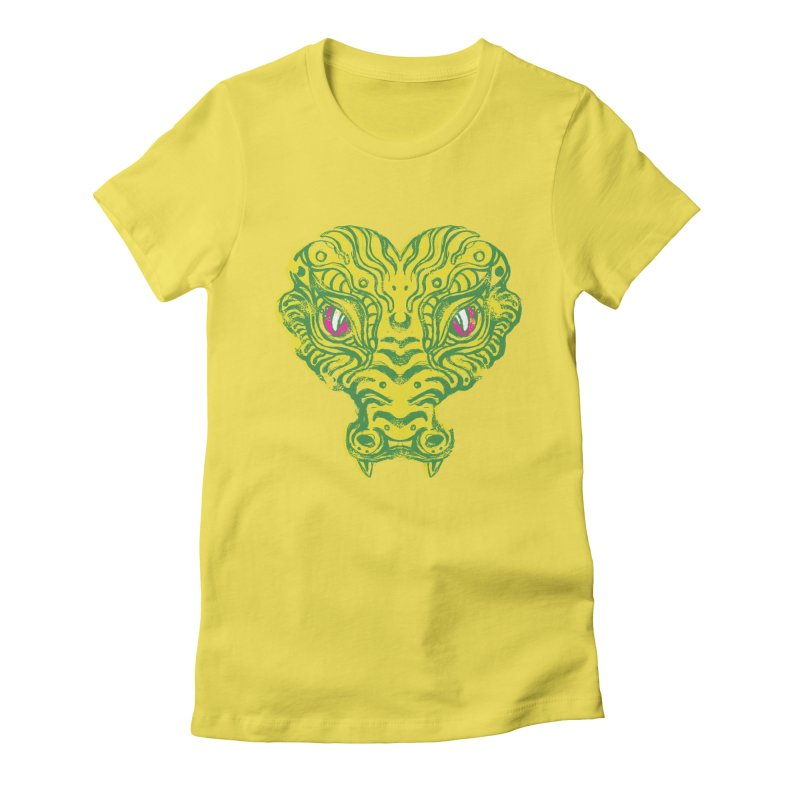 watching you Women's Fitted T-Shirt by okik's Artist Shop