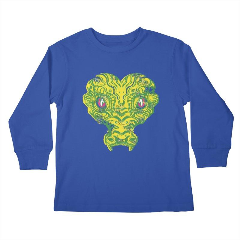 watching you Kids Longsleeve T-Shirt by okik's Artist Shop