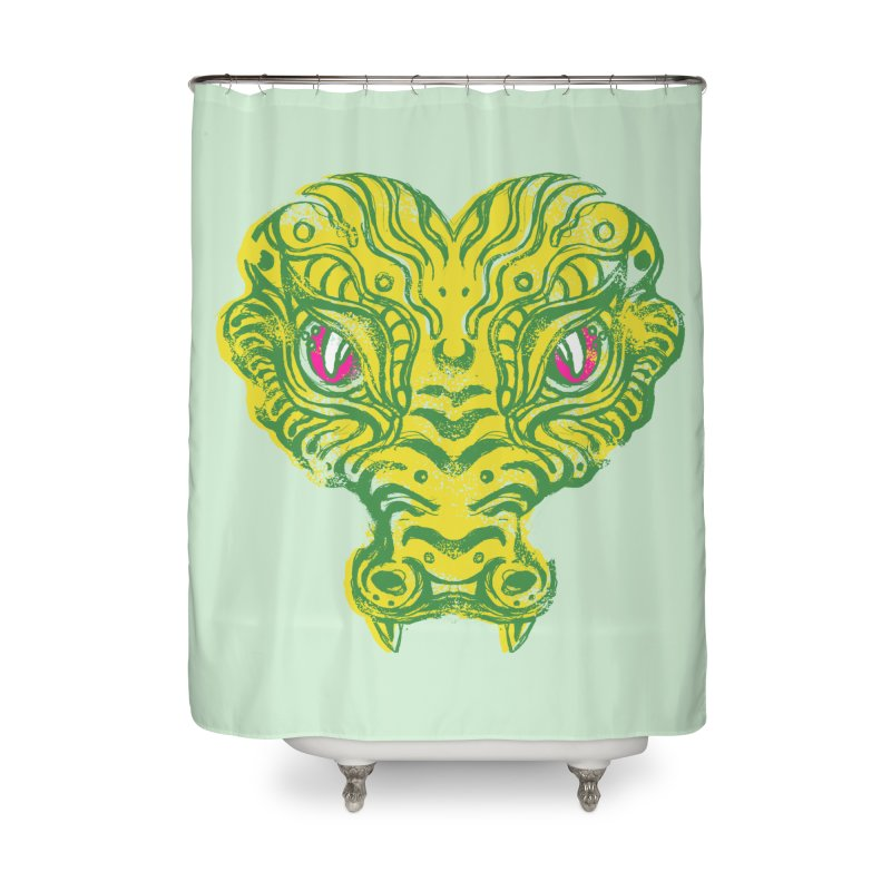 watching you Home Shower Curtain by okik's Artist Shop