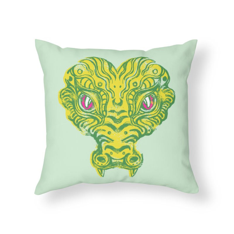 watching you Home Throw Pillow by okik's Artist Shop