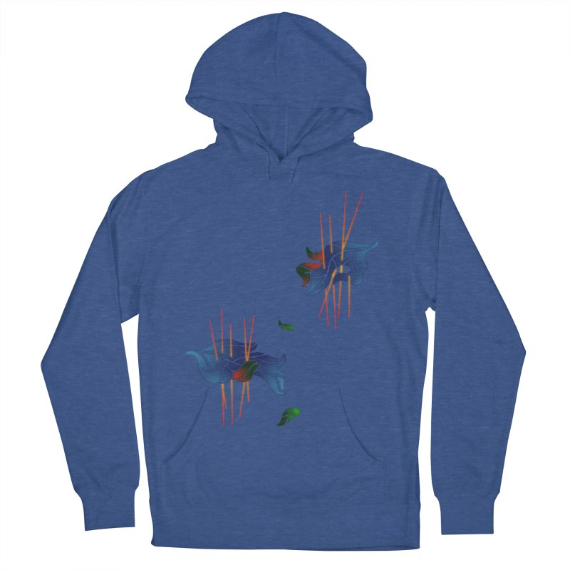 nature's love Women's French Terry Pullover Hoody by okik's Artist Shop