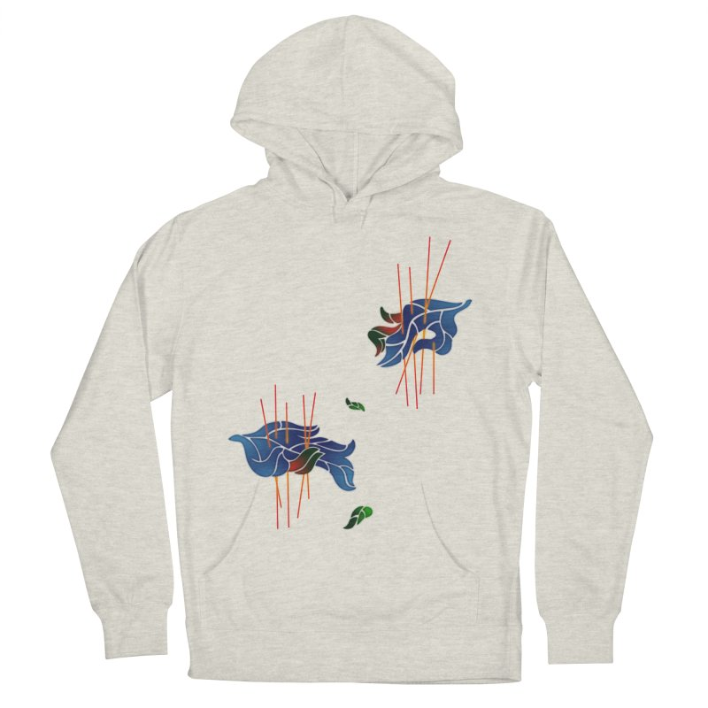 nature's love Women's Pullover Hoody by okik's Artist Shop