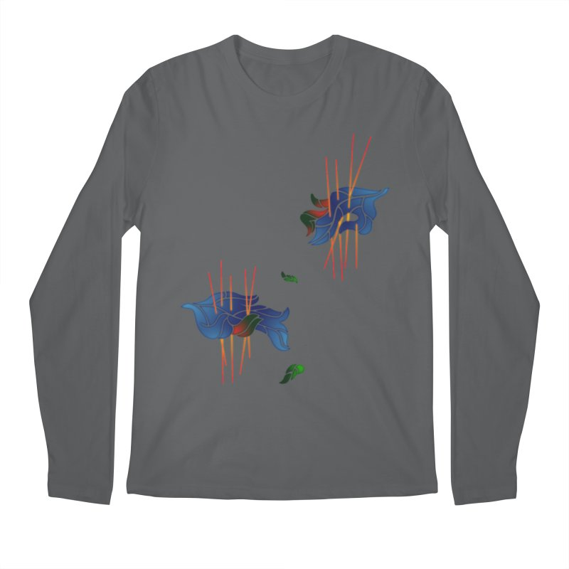 nature's love Men's Regular Longsleeve T-Shirt by okik's Artist Shop