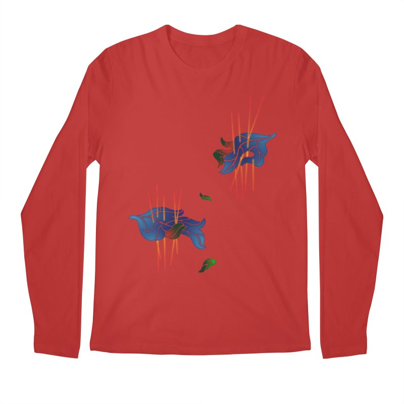 nature's love Men's Longsleeve T-Shirt by okik's Artist Shop