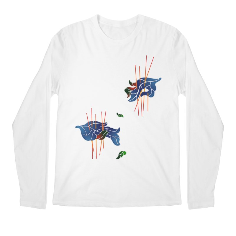 nature's love Men's Longsleeve T-Shirt by okik's Artist Shop