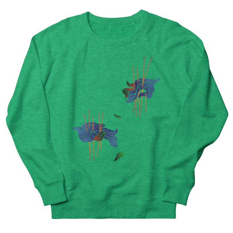 nature's love Women's French Terry Sweatshirt by okik's Artist Shop