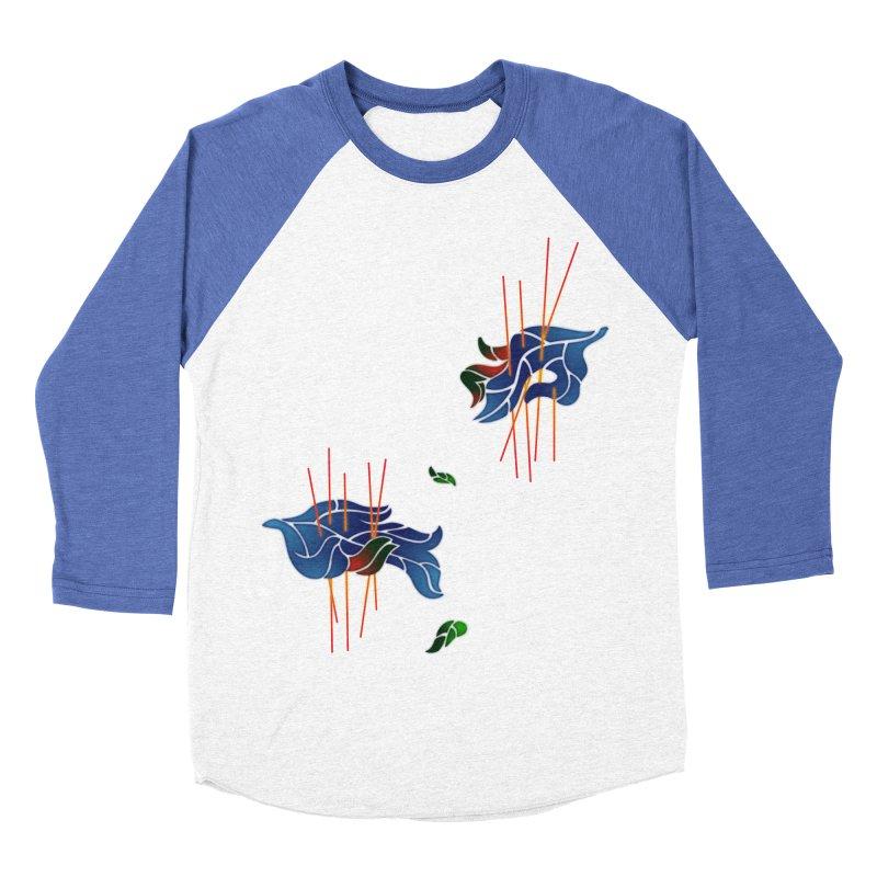 nature's love Women's Baseball Triblend T-Shirt by okik's Artist Shop