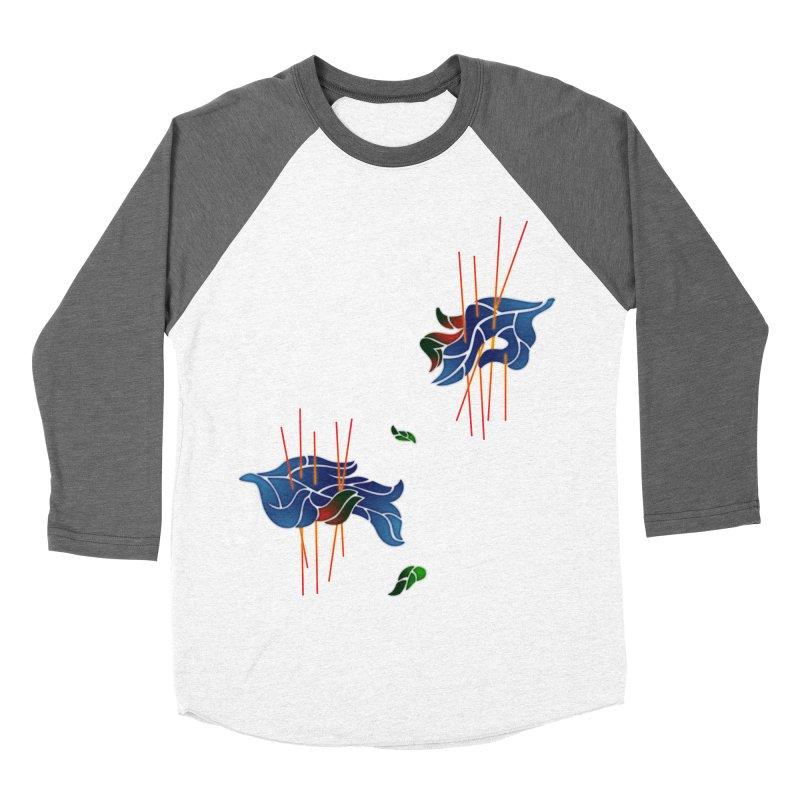 nature's love Men's Baseball Triblend T-Shirt by okik's Artist Shop