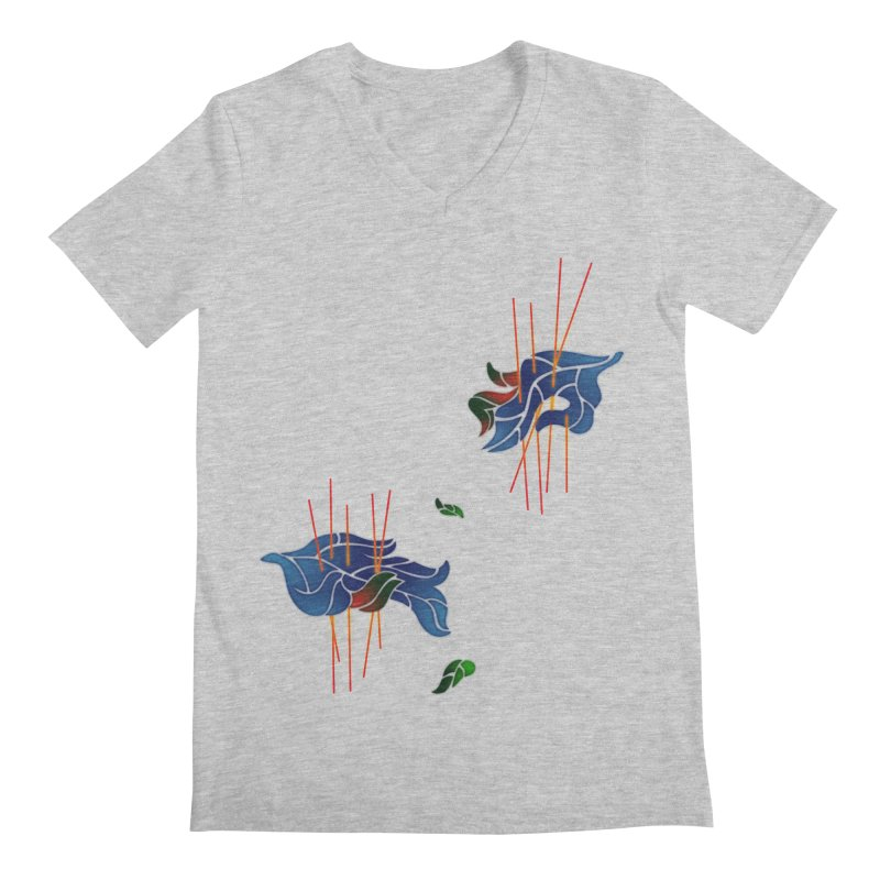 nature's love Men's V-Neck by okik's Artist Shop