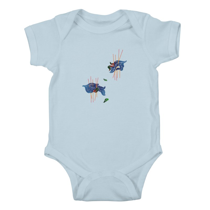 nature's love Kids Baby Bodysuit by okik's Artist Shop