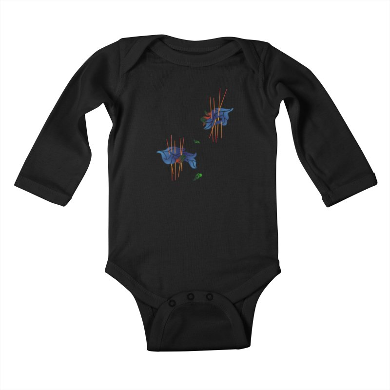 nature's love Kids Baby Longsleeve Bodysuit by okik's Artist Shop