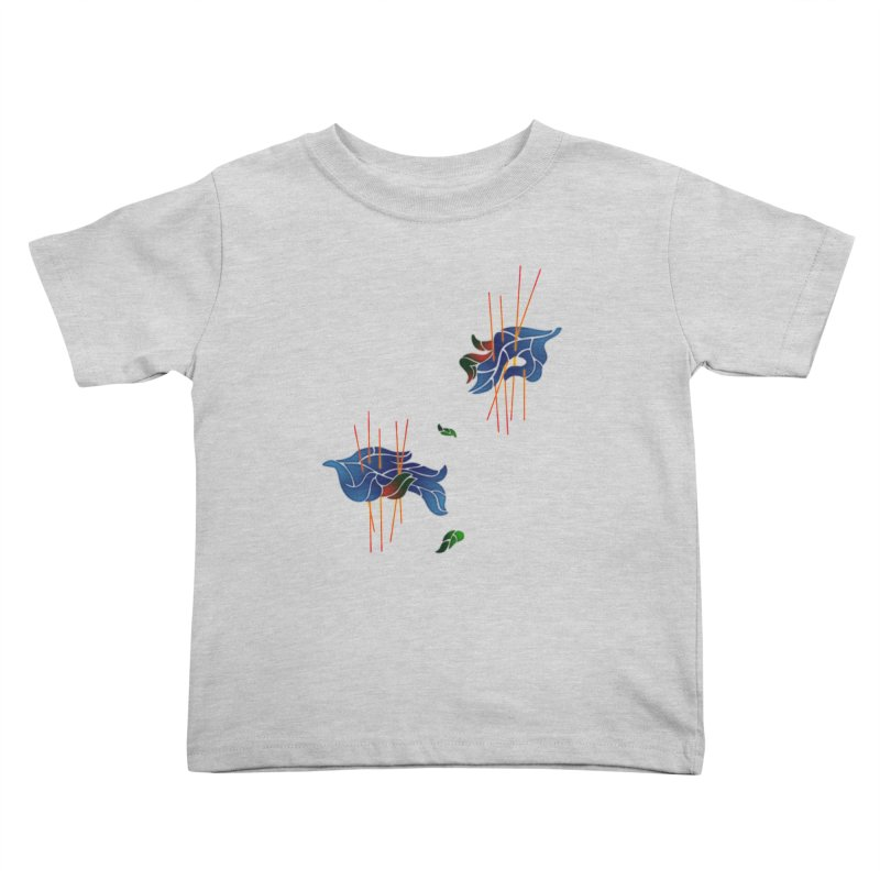 nature's love Kids Toddler T-Shirt by okik's Artist Shop