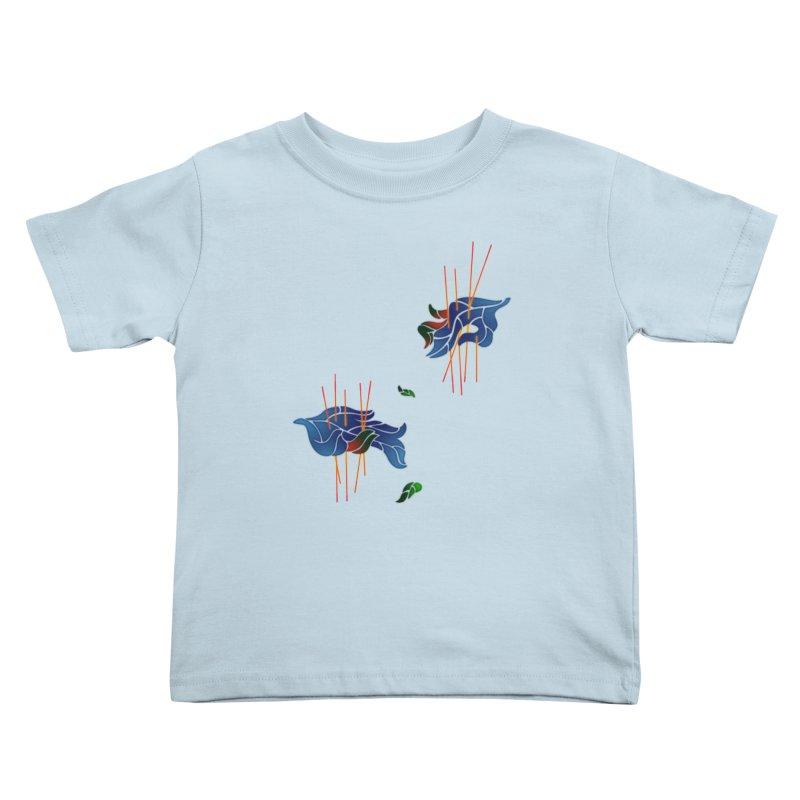 nature's love Kids Toddler T-Shirt by okik's Artist Shop