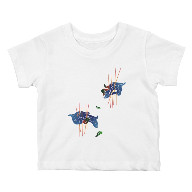 nature's love Kids Baby T-Shirt by okik's Artist Shop