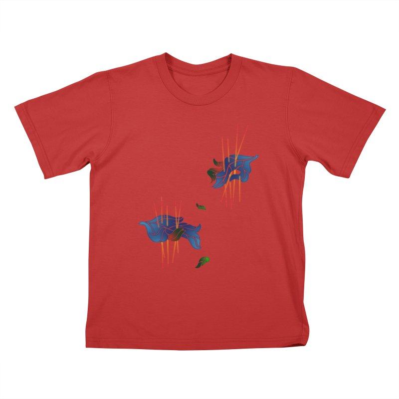 nature's love Kids T-Shirt by okik's Artist Shop
