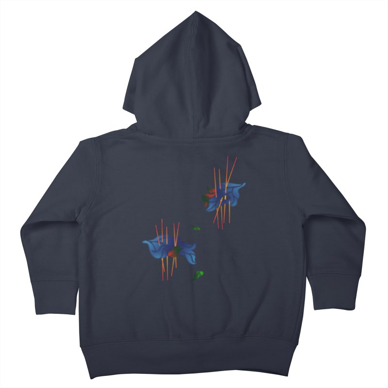 nature's love Kids Toddler Zip-Up Hoody by okik's Artist Shop