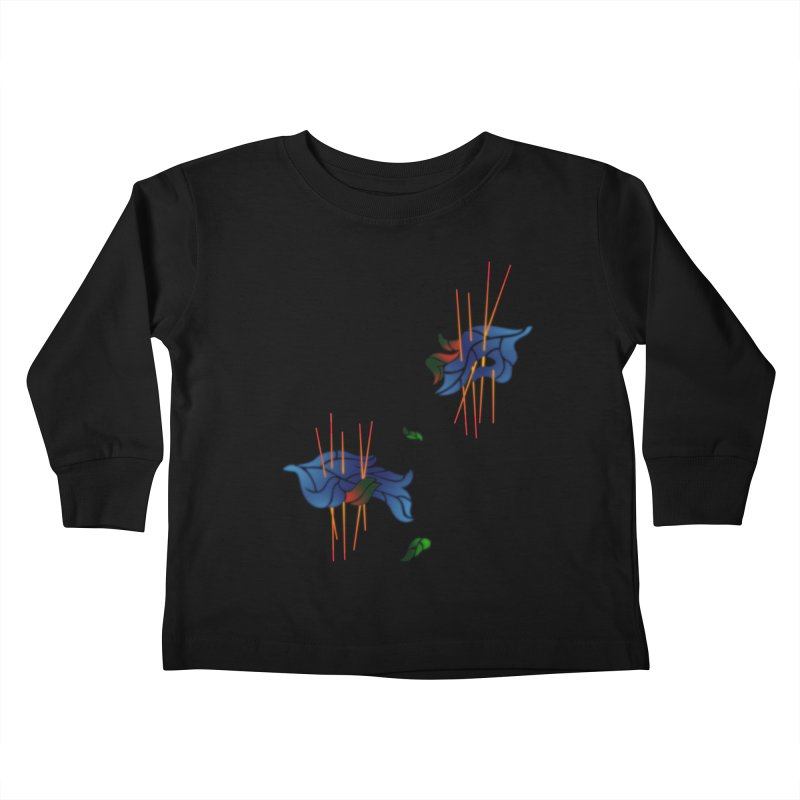 nature's love Kids Toddler Longsleeve T-Shirt by okik's Artist Shop