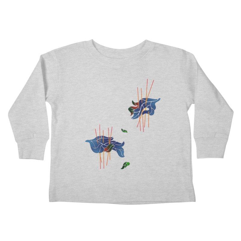nature's love Kids Toddler Longsleeve T-Shirt by okik's Artist Shop