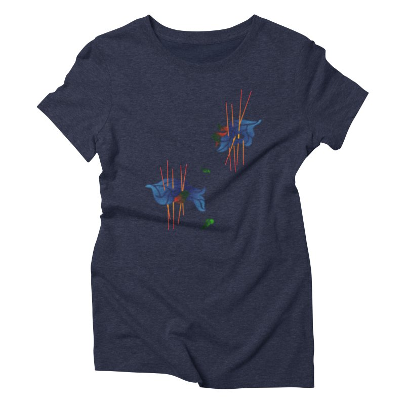 nature's love Women's Triblend T-Shirt by okik's Artist Shop