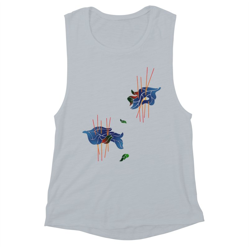 nature's love Women's Muscle Tank by okik's Artist Shop