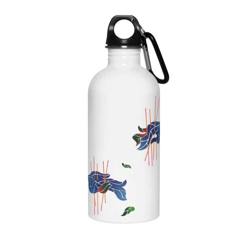nature's love Accessories Water Bottle by okik's Artist Shop