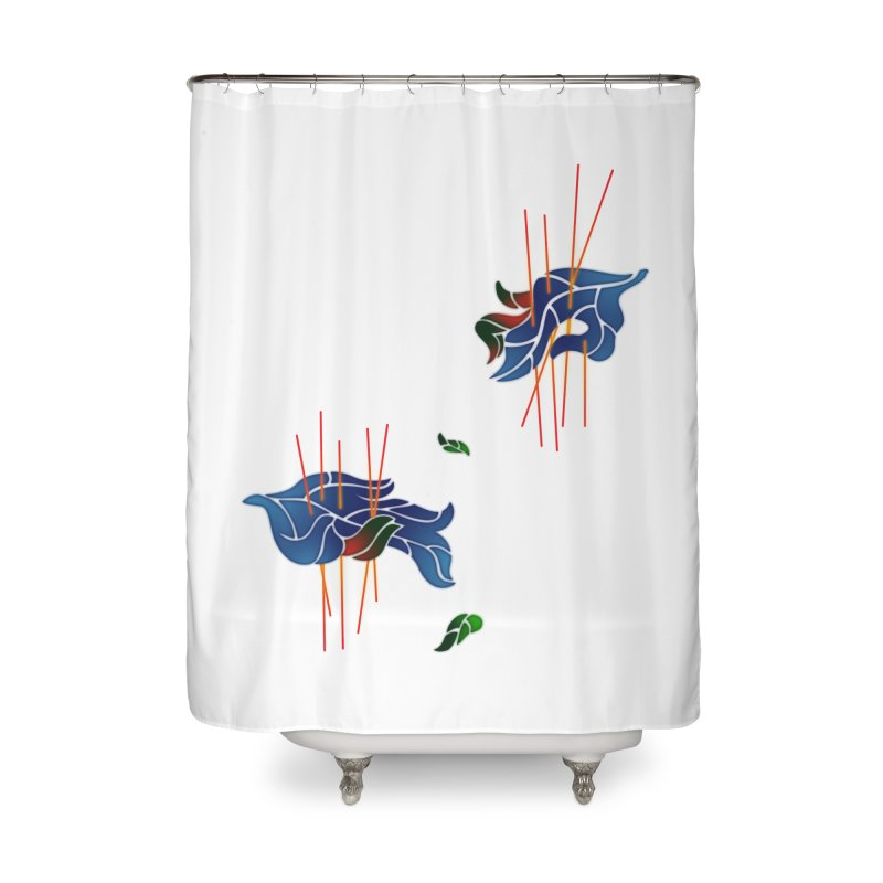 nature's love Home Shower Curtain by okik's Artist Shop