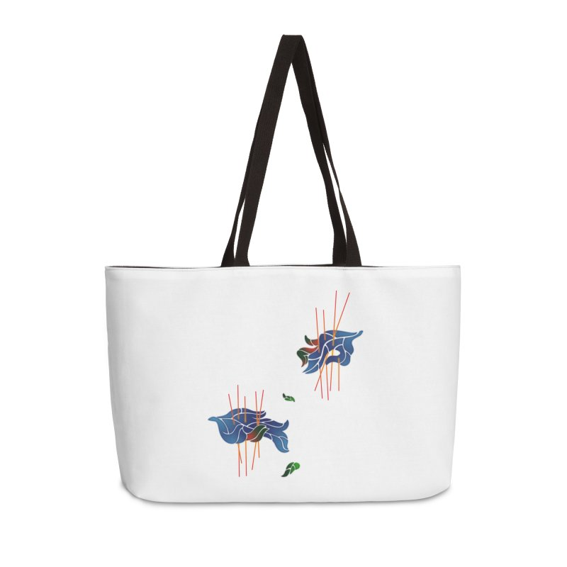 nature's love Accessories Weekender Bag Bag by okik's Artist Shop