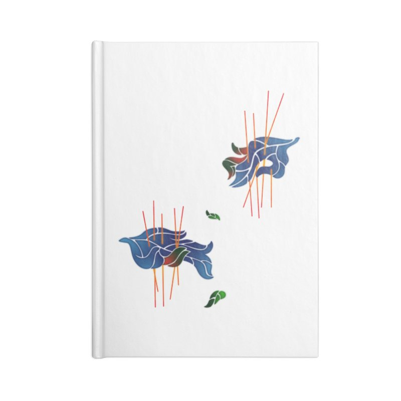 nature's love Accessories Blank Journal Notebook by okik's Artist Shop