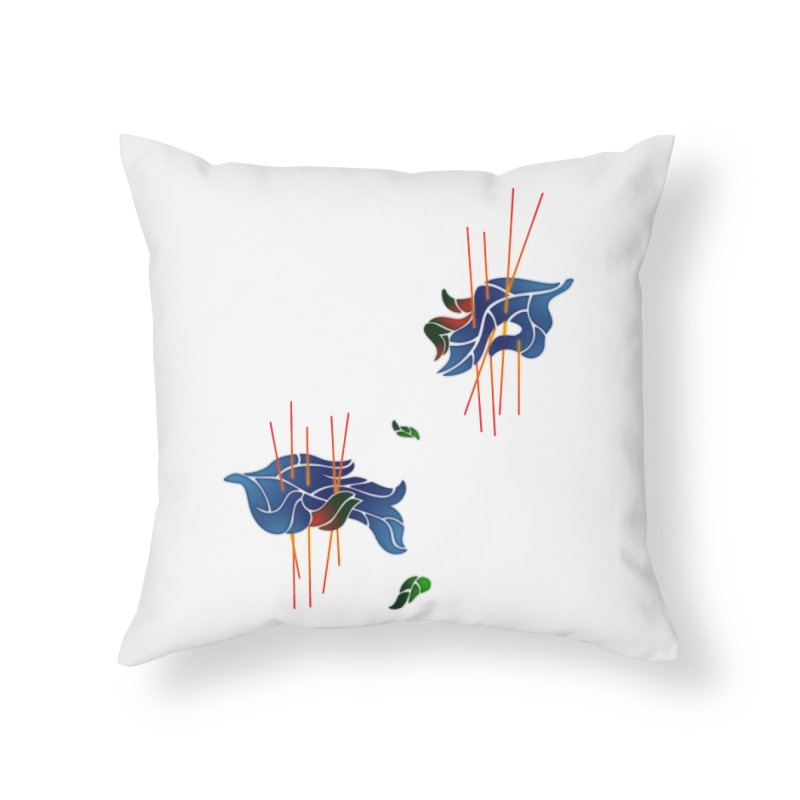 nature's love Home Throw Pillow by okik's Artist Shop