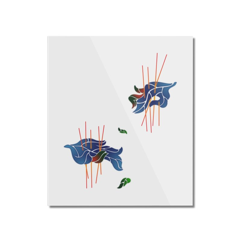 nature's love Home Mounted Acrylic Print by okik's Artist Shop