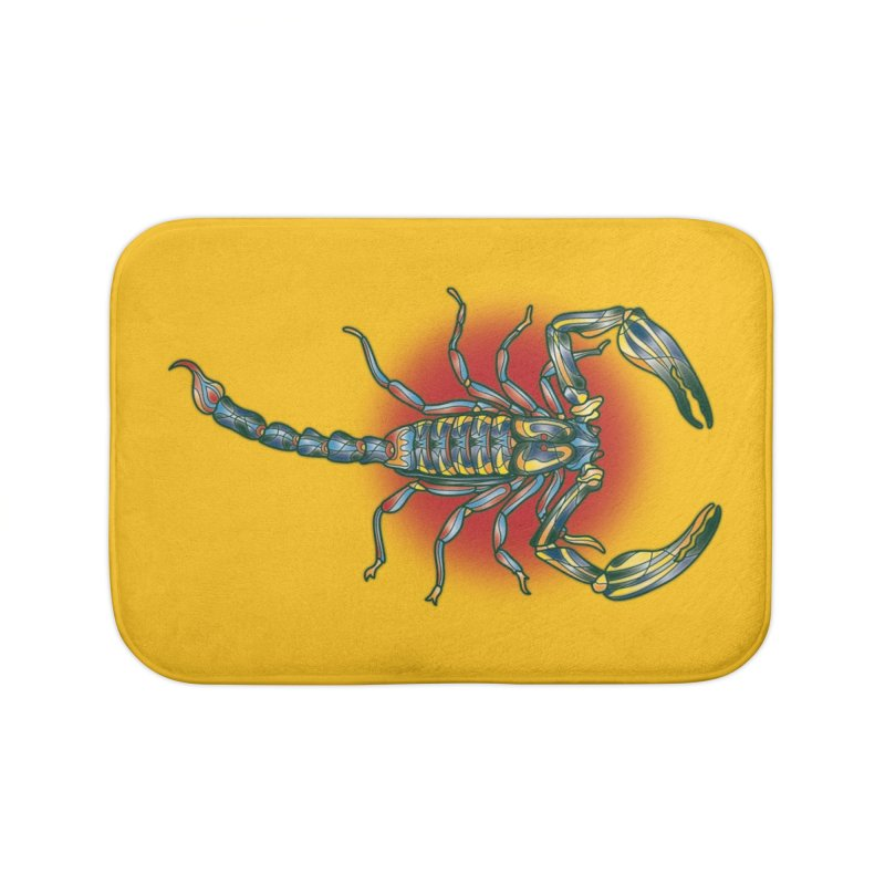 sting me Home Bath Mat by okik's Artist Shop