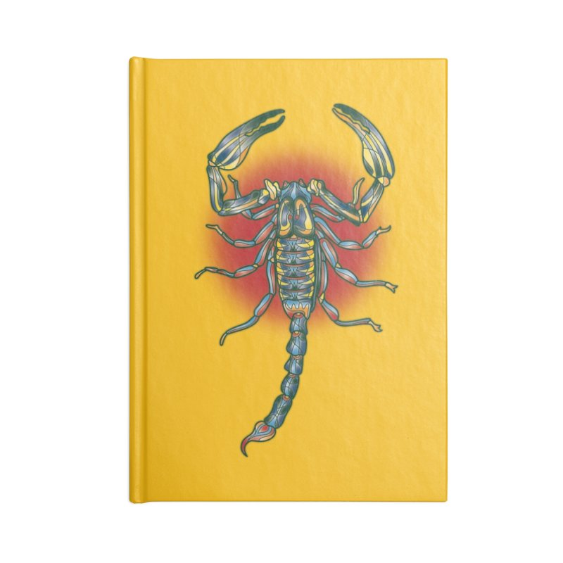 sting me Accessories Lined Journal Notebook by okik's Artist Shop