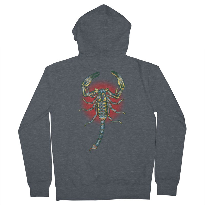 sting me Women's French Terry Zip-Up Hoody by okik's Artist Shop