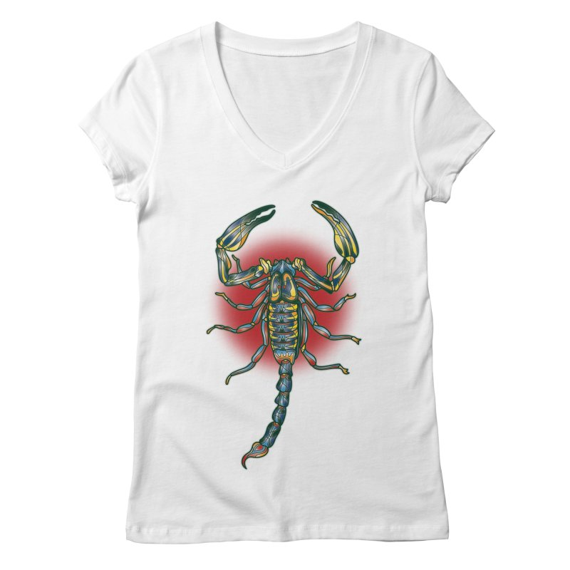 sting me Women's V-Neck by okik's Artist Shop