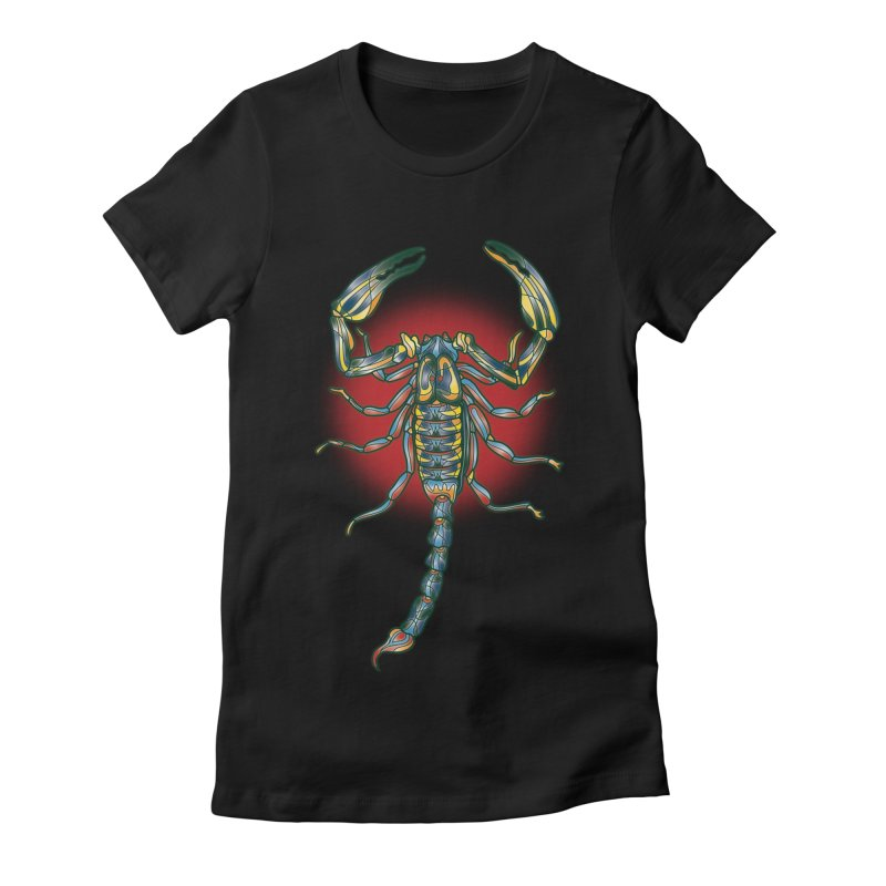 sting me Women's Fitted T-Shirt by okik's Artist Shop