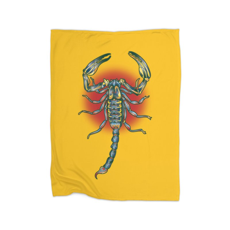 sting me Home Blanket by okik's Artist Shop