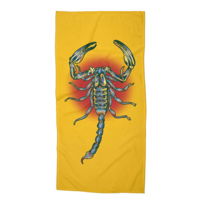 sting me Accessories Beach Towel by okik's Artist Shop
